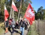 Katyń Zachodu w lasach Palędzko – Zakrzewskich  III Marsz Pamięci